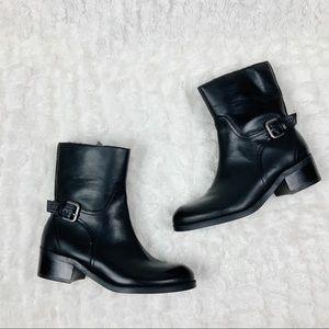 Marc Fisher Trist black booties